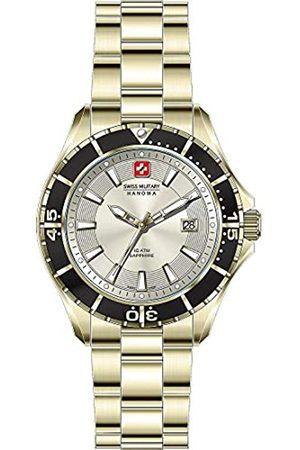 Swiss Military Hanowa Reloj Analógico para Unisex Adultos de Cuarzo con Correa en Acero Inoxidable 06-5296.02.002