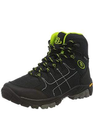 Bruetting Mount Shasta Kids Hi, Zapatos de High Rise Senderismo Unisex Niños, Marine/Lemon