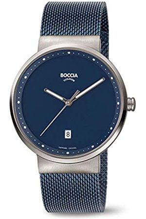 Boccia Reloj Analógico para Hombre de Cuarzo con Correa en Acero Inoxidable 3615-05