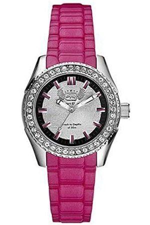 Marc Ecko Reloj Análogo clásico para Mujer de Cuarzo con Correa en Silicona E11599M3