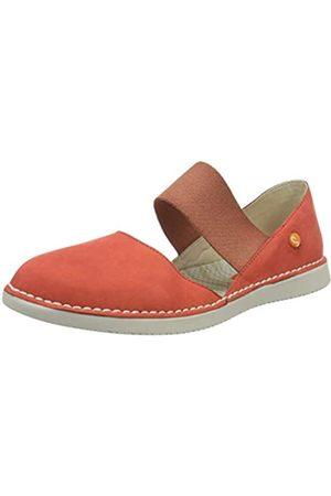 softinos Teja576sof, Sandalias con cuña Tipo Alpargatas para Mujer, (Devil Red 003)