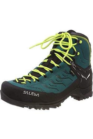 Salewa WS Rapace GTX, Zapatos de High Rise Senderismo para Mujer, (Shaded Spruce/Sulphur Spring 8630)