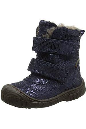 Bisgaard 61016218, Botas de Nieve para Niñas, Navy Metal 623