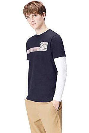 FIND Camiseta de Manga Larga con Estampado para Hombre