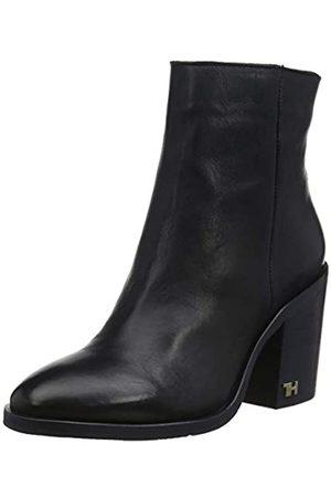 Tommy Hilfiger Mono Color Heeled Boot, Botines para Mujer
