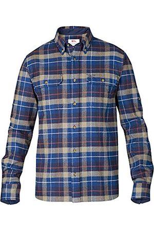 Fjällräven Para Hombre Camisa de Franela Sarek Heavy, Hombre