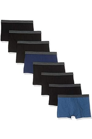 ATHENA Promo Basic Coton Bóxer, Bleu Chiné/Noir 9050