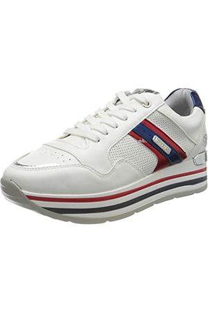 Dockers 44ca212-610505, Zapatillas para Mujer, (Weiss/Multi 505)