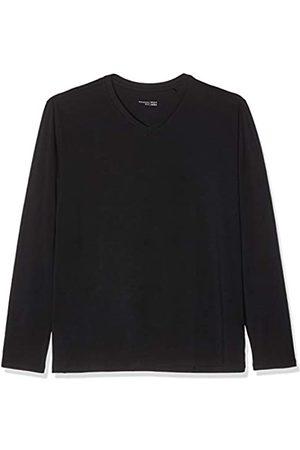 Schiesser Mix & Relax Langarmshirt V-Ausschnitt Camiseta de Pijama