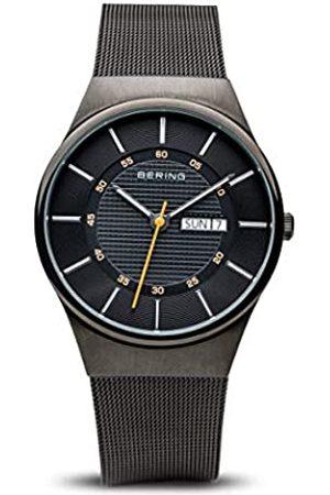 Bering Reloj Analogico para Hombre de Cuarzo con Correa en Acero Inoxidable 12939-222