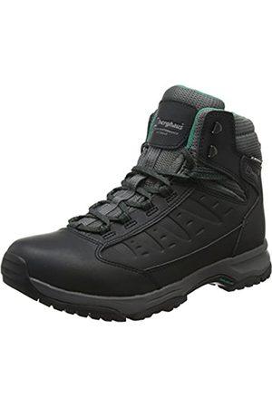 Berghaus Explorer Active M Gore-Tex Walking Boots, Botas de Senderismo para Mujer, (Black/Dark Grey Bk2)