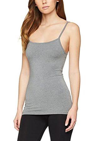 IRIS & LILLY Camiseta Interior Térmica Ligera de Tirantes para Mujer, Pack de 2