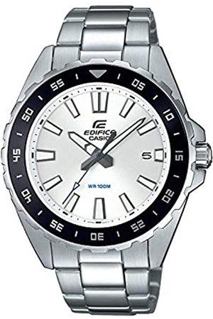 Casio Reloj Analógico para Hombre de Cuarzo con Correa en Acero Inoxidable EFV-130D-7AVUEF