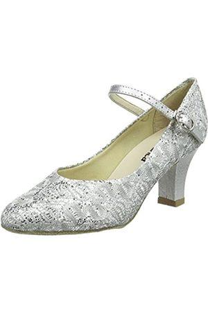 So Danca Bl166 Zapatillas de Baila Moderno y Jazz Mujer, (Silver Sparkle)