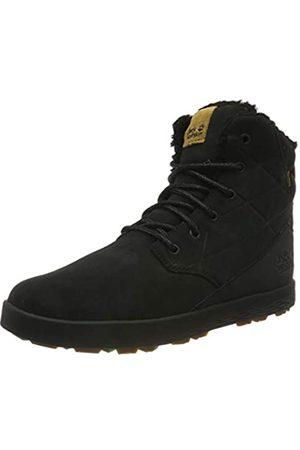 Jack Wolfskin Auckland WT Texapore High M Wasserdicht, Zapatos Rise Senderismo para Hombre, Black/Black 6053