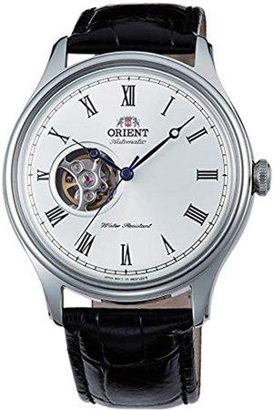 Orient Reloj Analógico para Unisex Adultos de Automático con Correa en Cuero FAG00003W0