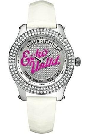 Marc Ecko Reloj Análogo clásico para Mujer de Cuarzo con Correa en Cuero E10038M2