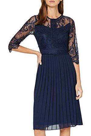 Yumi Pleated Lace Dress Vestido Informal