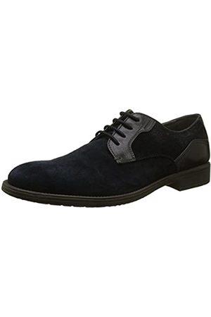 Geox U Jaylon E, Zapatos de Cordones Derby para Hombre, (Navy)