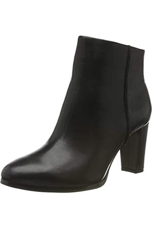 Clarks Kaylin Fern, Botines para Mujer, (Black Leather Black Leather)