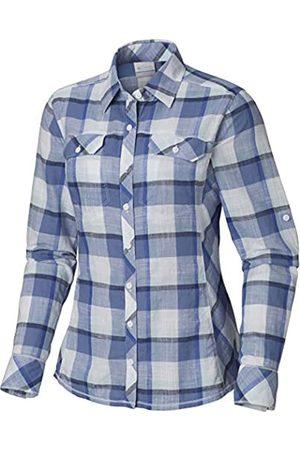 Columbia Camp Henry Langarm Shirt Camisa para Mujer Extra-Small