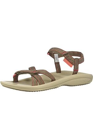 Columbia Wave Train™, Sandalias para Mujer, (Wet Sand, Red Coral)