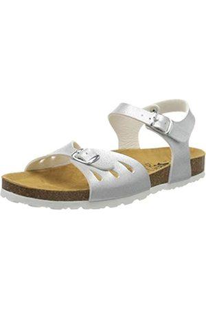 LICO Bioline Sandal, Mules para Mujer, (Silver Silver)