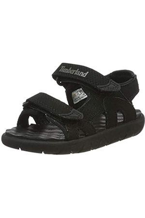Timberland Perkins Row 2-Strap, sandale junior Descubierta Unisex niños, (Black)