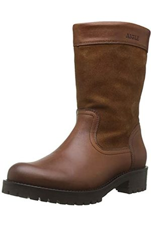 Aigle Lierzon Boot, Botas Slouch para Mujer, (Camel 001)