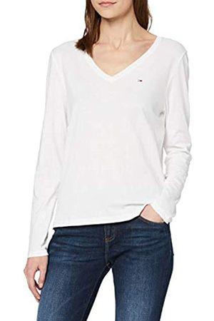 Tommy Hilfiger Tjw Soft Jersey V Longsleeve Camiseta de Manga Larga