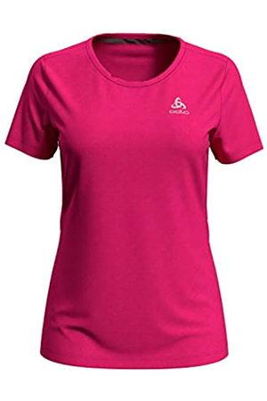 Odlo T-Shirt s/s Crew Neck F-Dry Camiseta, Mujer