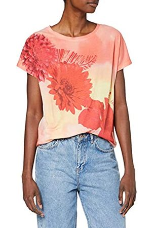 Desigual TS_Red Flowers Camiseta