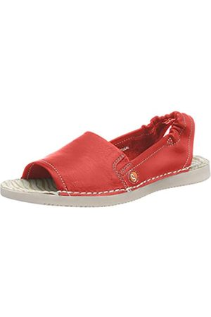 softinos Tee430sof, Sandalias con Punta Abierta para Mujer, (Red 002)