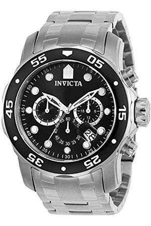 Invicta 0069 Pro Diver - Scuba Reloj para Hombre acero inoxidable Cuarzo Esfera