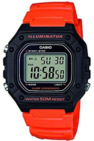 Casio Reloj Digital para Hombre de Cuarzo con Correa en Resina W-218H-4B2VEF