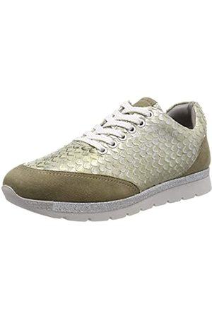 Marc Liv, Zapatillas para Mujer, (Suede-Pittone Metallic Green 00770)
