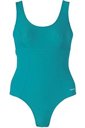 Beco – Bañador para Mujer de Aqua petróleo Talla:46 [DE 44]