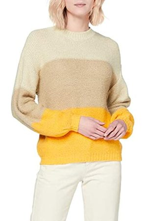 Pieces Pcjasmin LS High Neck Knit PB Suéter pulóver