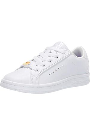 Skechers Omne Class Star, Zapatillas para Niñas, (White Dura Leather Wht)