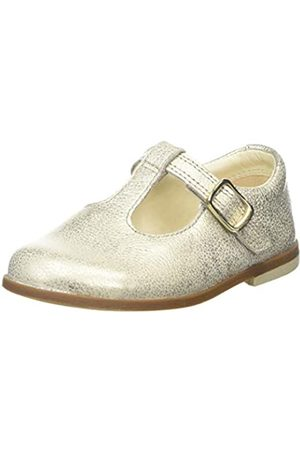 Clarks Drew Shine T, Bailarinas para Niñas, (Gold Metallic Gold Metallic)