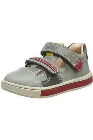 Geox B Trottola Boy C, Zapatillas para Bebés, (Dk Olive/Red C3k7v)