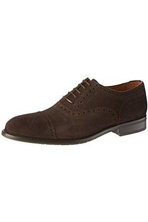 Lottusse L6966, Zapatos de Cordones Derby para Hombre, (Buckster Moka Buckster Moka)