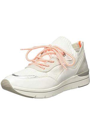 Marco Tozzi 2-2-23729-24, Zapatillas para Mujer, (White/Neon 179)