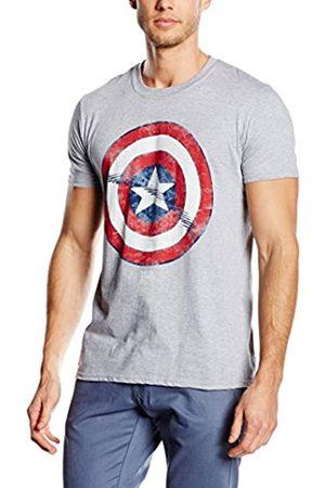 Marvel Camiseta Manga Corta Captain America Shield S
