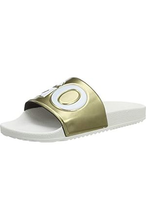 HUGO BOSS Timeout_Slid_MT, Mules para Mujer, (Gold 710)