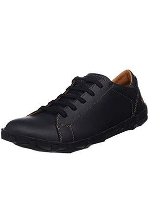 Art Melbourne, Zapatos de Cordones Brogue para Hombre, (Black Black)