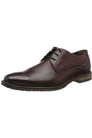Fretz Men Grenoble, Zapatos de Cordones Derby para Hombre, (Bordo 93)