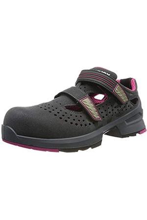 Uvex 1 Ladies, Zapatillas de Trabajo para Mujer, Grau-Pink