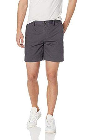 Amazon Pantalón corto de corte entallado para hombre (17,78 cm)