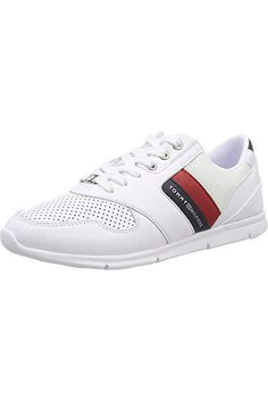 Tommy Hilfiger Lightweight Leather Sneaker, Zapatillas para Mujer, (RWB 020)